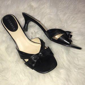 George Kitten Heel Sandals